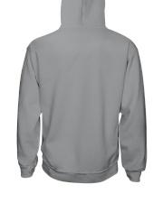 Cute Doberman with Rose Hooded Sweatshirt back