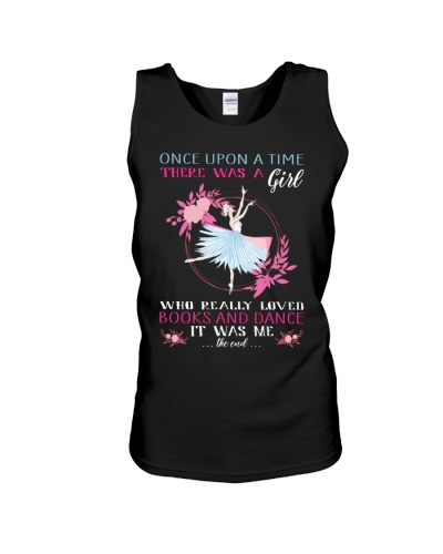 Once upon a time was a girl loved books and dance