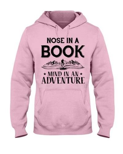 Nose in a book - Mind in an adventure