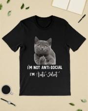 I'm anti idiot  Classic T-Shirt lifestyle-mens-crewneck-front-19