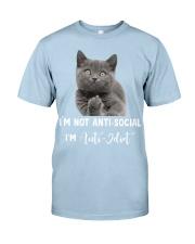 I'm anti idiot  Classic T-Shirt tile