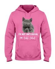 I'm anti idiot  Hooded Sweatshirt thumbnail