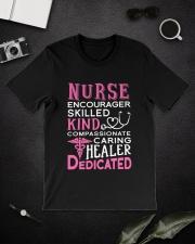 Nurse Encourager Kind Healer Dedicated Classic T-Shirt lifestyle-mens-crewneck-front-16