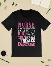 Nurse Encourager Kind Healer Dedicated Classic T-Shirt lifestyle-mens-crewneck-front-19