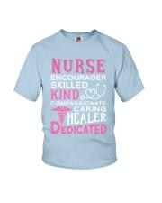 Nurse Encourager Kind Healer Dedicated Youth T-Shirt thumbnail