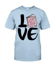 Flower Book Love Classic T-Shirt tile