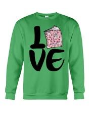 Flower Book Love Crewneck Sweatshirt tile