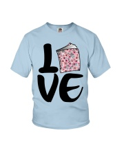Flower Book Love Youth T-Shirt tile