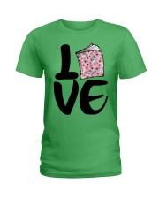 Flower Book Love Ladies T-Shirt tile