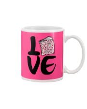 Flower Book Love Mug tile