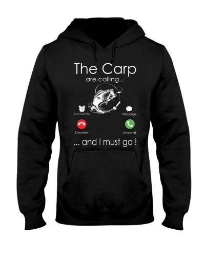 The carp are calling and i must go