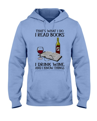 That's what i do i read book - I drink wine