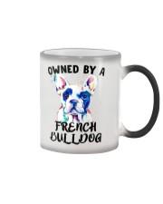 I'm not single I have a dog Color Changing Mug thumbnail