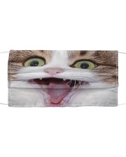 Cute Tongue Cat Face Mask Cloth Cloth face mask front
