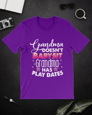 Grandma Doesn't Babysit Classic T-Shirt lifestyle-mens-crewneck-front-16