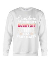 Grandma Doesn't Babysit Crewneck Sweatshirt tile