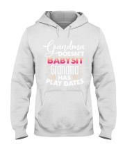 Grandma Doesn't Babysit Hooded Sweatshirt tile