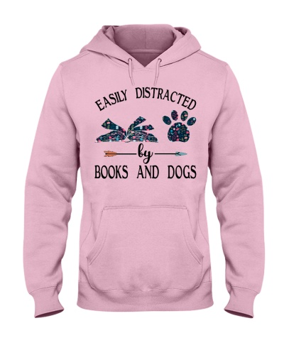 Easily distracted by books and dogs