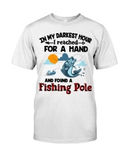 Fishing Pole In My Darkest Hour Classic T-Shirt thumbnail