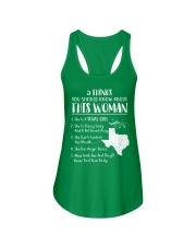 I'm Texas Girl Ladies Flowy Tank thumbnail
