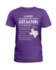 I'm Texas Girl Ladies T-Shirt thumbnail