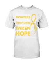 Supporting The Fighters Suicide Awareness Classic T-Shirt thumbnail