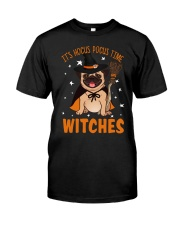 Hocus Pocus Time Witches Classic T-Shirt front