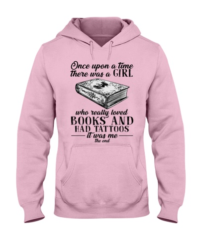 One upon a time a girl loved books and tattoos