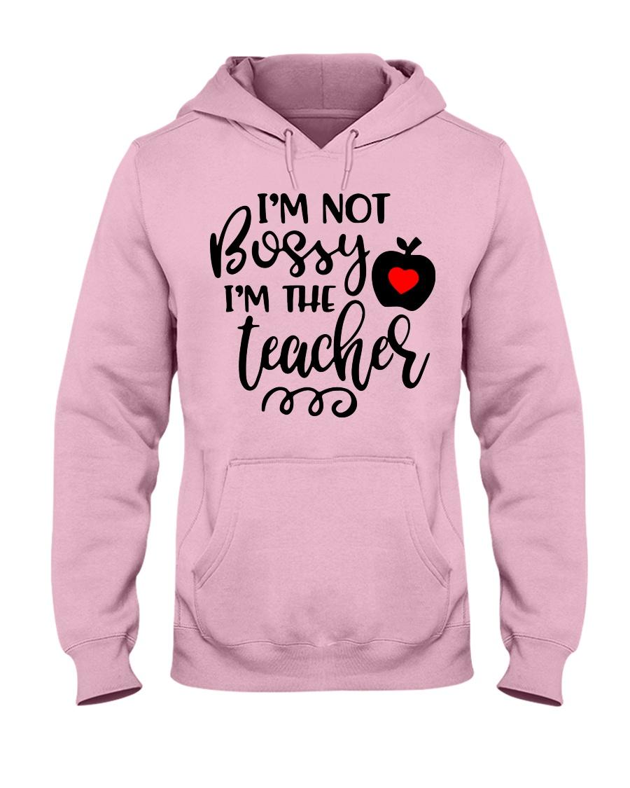 I am not bossy Funny Teacher  Hooded Sweatshirt