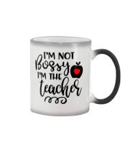 I am not bossy Funny Teacher  Color Changing Mug thumbnail