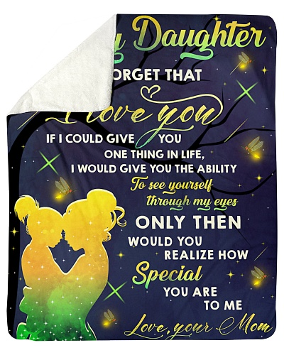 For my daughter never forget that i love you