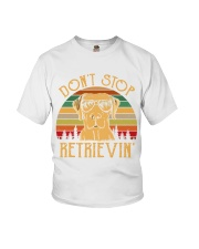 Dont Stop Retrieving Vintage Youth T-Shirt thumbnail