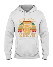 Dont Stop Retrieving Vintage Hooded Sweatshirt thumbnail