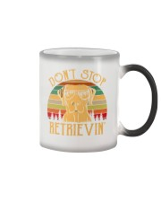 Dont Stop Retrieving Vintage Color Changing Mug thumbnail