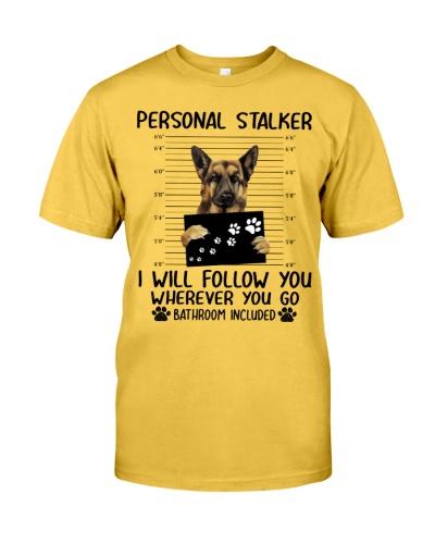 Personal Stalker German Shepherd