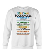 Seasonal Bookaholic Crewneck Sweatshirt thumbnail