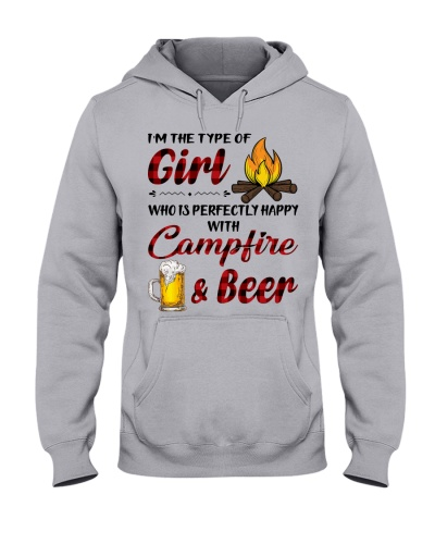 I'm the type of girl with campfire and beer