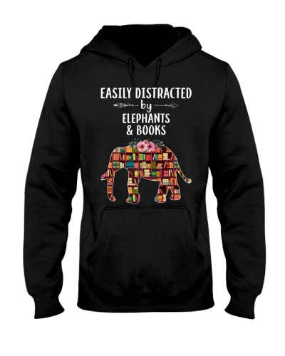 Easily distracted by elephants and books