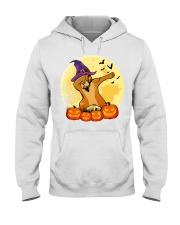 Pitbull Halloween Hooded Sweatshirt thumbnail