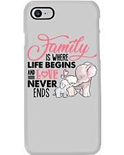 Elephant - Love Never Ends Phone Case thumbnail