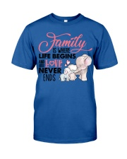 Elephant - Love Never Ends Classic T-Shirt thumbnail