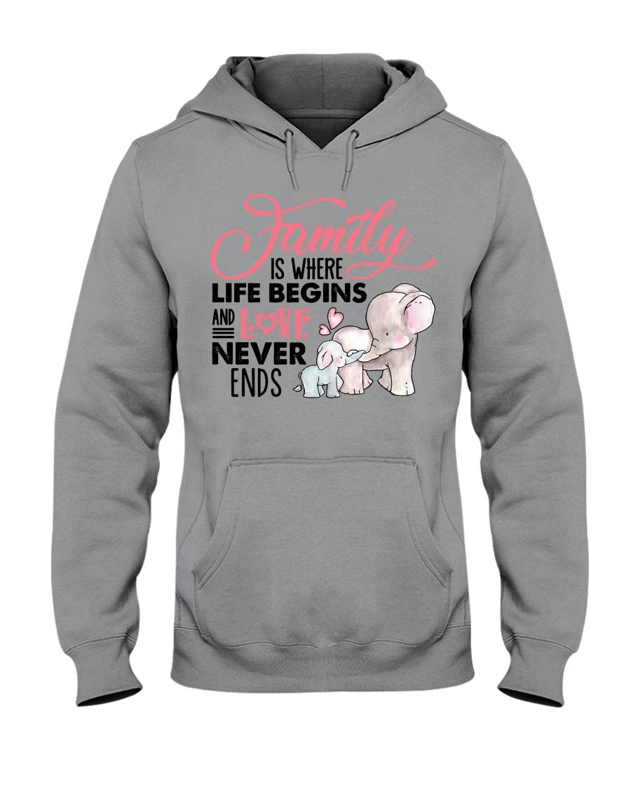 Elephant - Love Never Ends Hooded Sweatshirt
