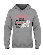 Elephant - Love Never Ends Hooded Sweatshirt front