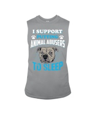 I support putting animal abusers to sleep Sleeveless Tee thumbnail