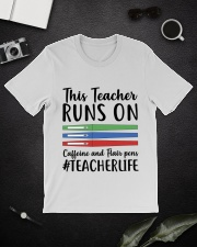 Caffeine And Flair Pens Classic T-Shirt lifestyle-mens-crewneck-front-16