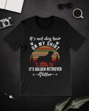 Not Dog Hair Golden Retriever  Classic T-Shirt lifestyle-mens-crewneck-front-16