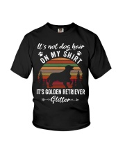 Not Dog Hair Golden Retriever  Youth T-Shirt tile