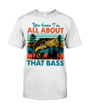 Im All About That Bass Classic T-Shirt front