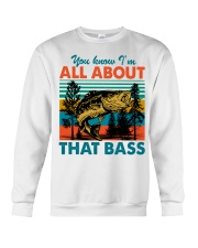 Im All About That Bass Crewneck Sweatshirt thumbnail