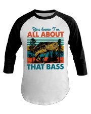 Im All About That Bass Baseball Tee thumbnail